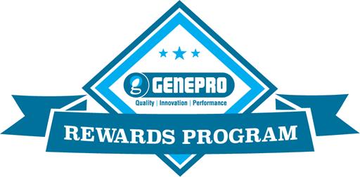 Genepro Rewards Program